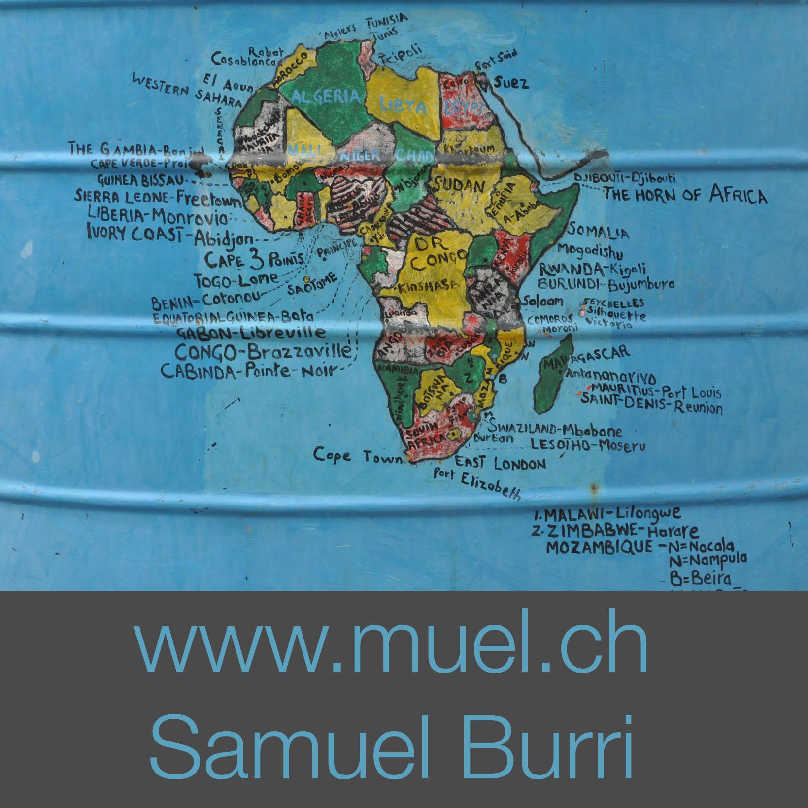 Samuel Burri - Journalist, Afrika, Schweiz